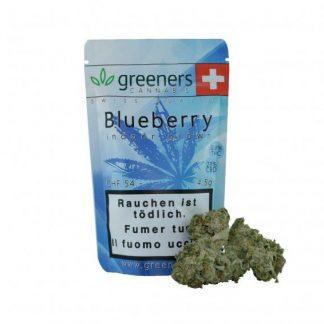 Greeners Blueberry CBD Hanf Blüten günstig online bestellen