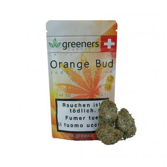 Greeners Orange Bud CBD Cannabis Blüten günstig online kaufen.