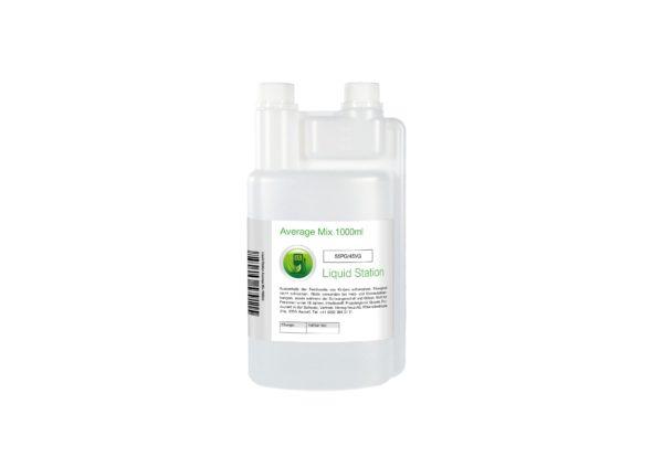LiquidStation Average Mix Liquid Base mit 55% PG / 45% VG kaufen