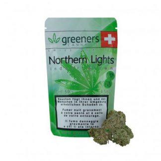 Greeners Northern Lights CBD Blüten günstig online kaufen
