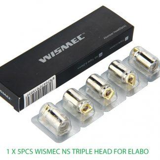 5 Stück Wismec NS triple Head Coil für Sinuous kaufen bei HempBasement.ch