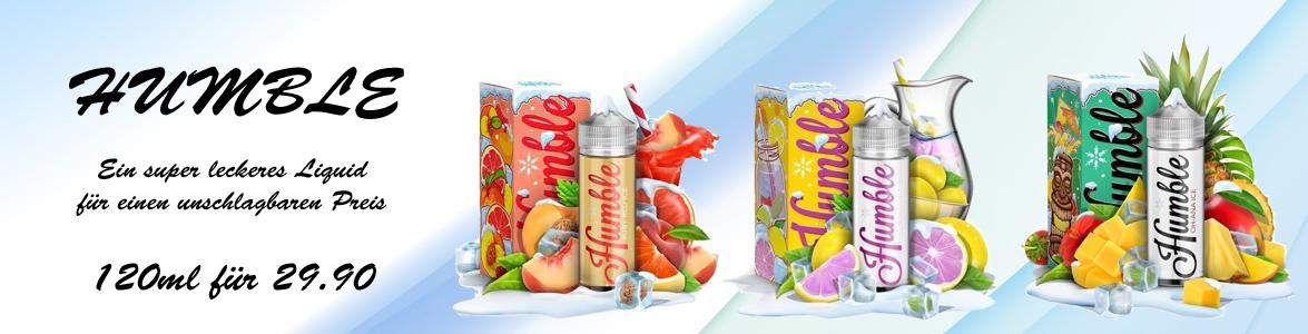 Humble E-Liquids super lecker und super günstig online bestellen.