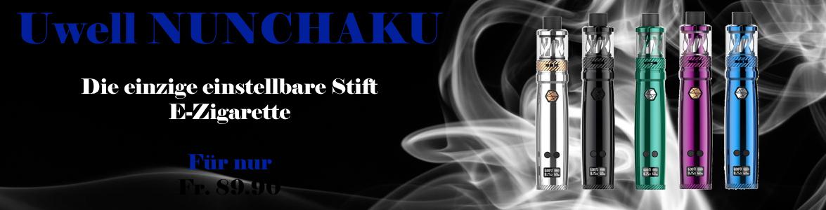 Uwell Nunchaku einstellbare E-Zigarette in stiftform günstig kaufen.