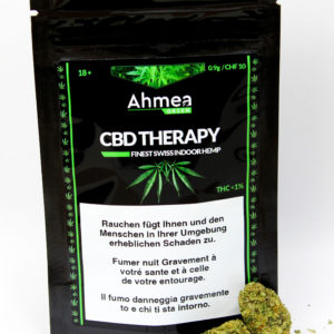 Ahmea CBD Green Hanf Legal Schweiz Therapy 0.9g günstig kaufen 10fr online