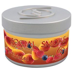 Social Smoke Twisted frucht Shisha Tabak online günstig kaufen Schweiz