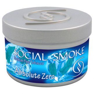 Social Smoke Absolute Zero Shisha Tabak 100gr online günstig kaufen schweiz