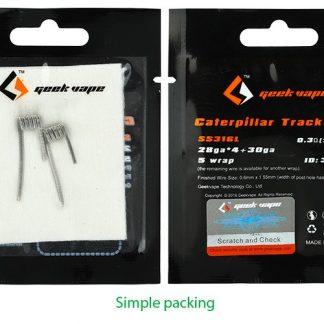 GeekVape Caterpillar SS316L Coil für E-Zigarette