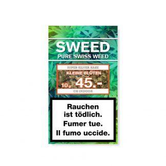 Sweed Super Silver Haze kleine CBD Blüten kaufen