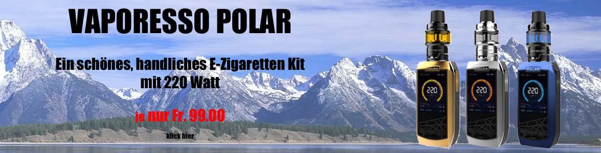Vaporesso Polar Kit 220 Watt online kaufen günstig schweiz