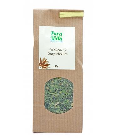 CBD Tee Pura Vida Hanf Tee Blüten legal schweiz online shop kaufen