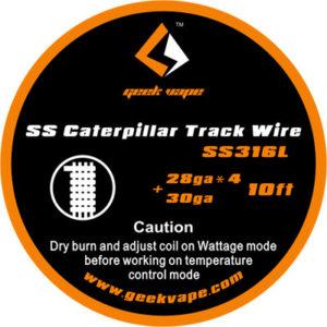 Geek Vape Caterpillar Draht SS316L 28ga*4 + 30ga kaufen
