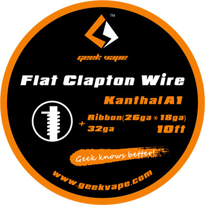 Geek Vape Flat Clapton Kanthal Wickeldraht kaufen