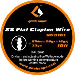 Geek Vape Flat Clapton SS316 Wickeldraht kaufen