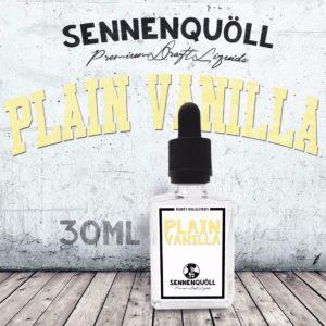 Sennenquoell Plain Vanilla E-Liquid 30ml Schweizer Liquid Kaufen online shop Schweiz