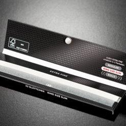 Gizeh Black King Size Slim Papes Papier extra fine 34 BLatt kaufen online shop schweiz ohne filter mit magnet