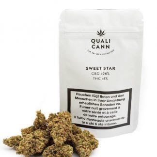 Quali Cann Sweet Star CBD Blüten kaufen 26%CBD
