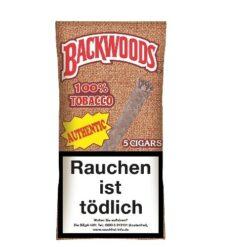 Backwoods kaufen Authentic Blunt mit Vanille und Frucht Aroma