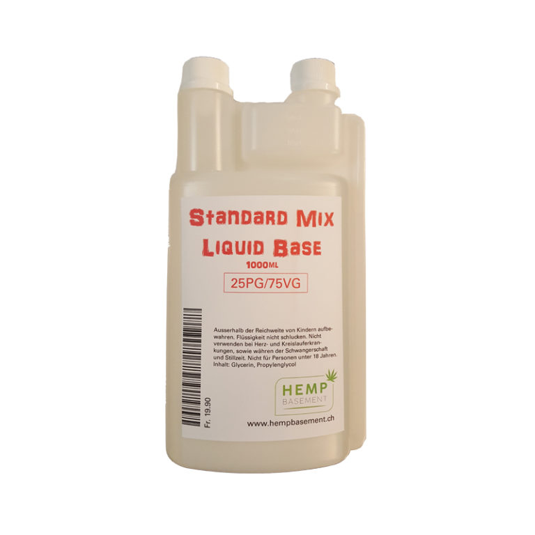 Liquid Base Standard Mix 1000ml 25PG-75VG kaufen online
