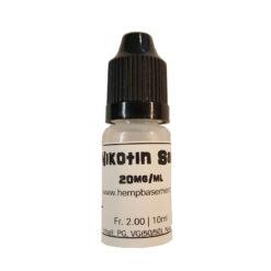Nikotin Salz Shot 20mg 10ml kaufen online