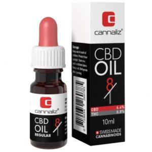 Cannaliz CBD Öl Tropfen mit 6.4% CBD und 0.8% THC kaufen online
