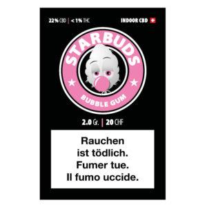 Starbuds Bubblegum CBD Blüten kaufen online