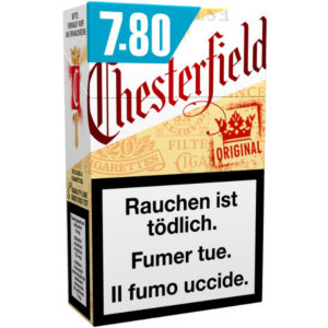 Chesterfield Original Zigaretten online kaufen