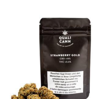 qualicann Strawberry Gold CBD Blüten kaufen online