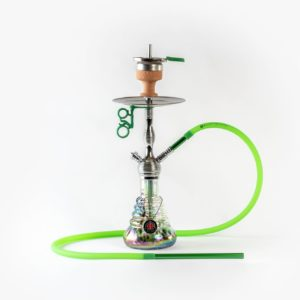 Amy Deluxe Small Rips 470R Shisha Silber Grün kaufen online shop