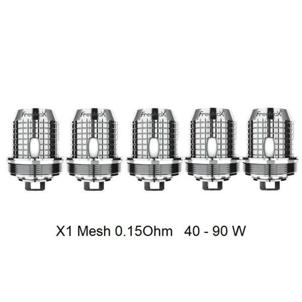 Freemax Twister Coils X1 Mesh 0.15 Ohm kaufen online