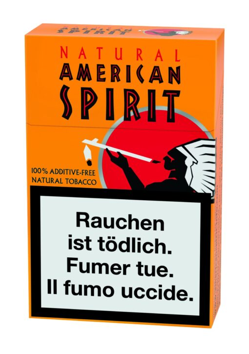 Natural American Spirit Zigaretten Ultra Orange kaufen online