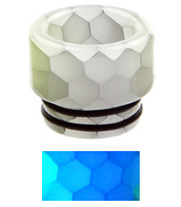 510 E-Zigaretten DripTip blau fluoriszierend kaufen online