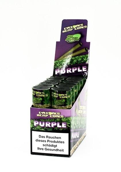 Cyclones Hemp Purple Grape - Hanf Blunt Cones kaufen Online Shop