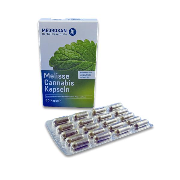Medrosan Melisse Cannabis Kapseln online kaufen Schweiz