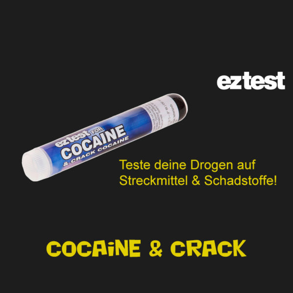EZ Cocain- und Crack Tester online shop kaufen