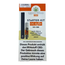 Green Mood 50% CBD Vape Pen Starter Kit kaufen online