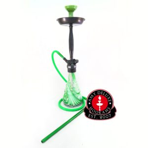Amy Deluxe Elementary 023 Chrom - Grün Shisha kaufen online