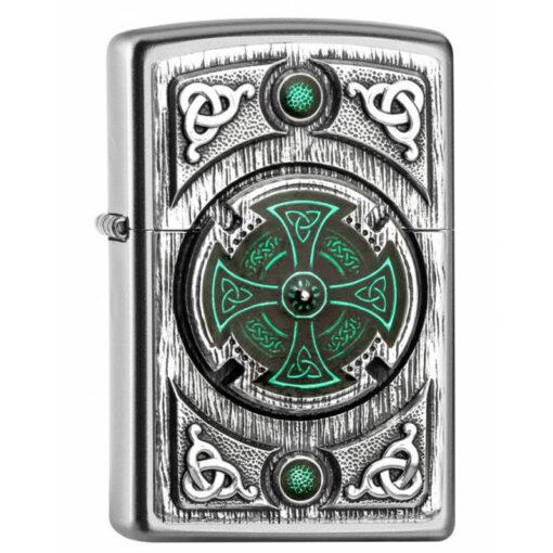 Zippo Feuerzeug Celtic Green Cross kaufen online Shop Schweiz günstig1