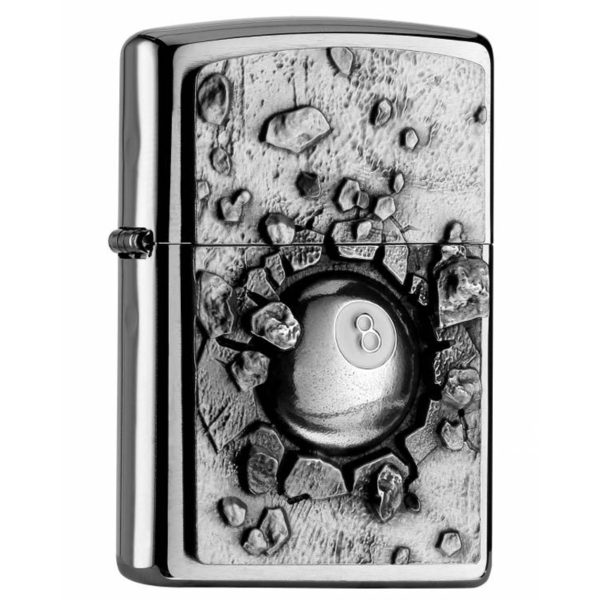 Zippo Feuerzeug Eight Ball Emblem kaufen online schweiz