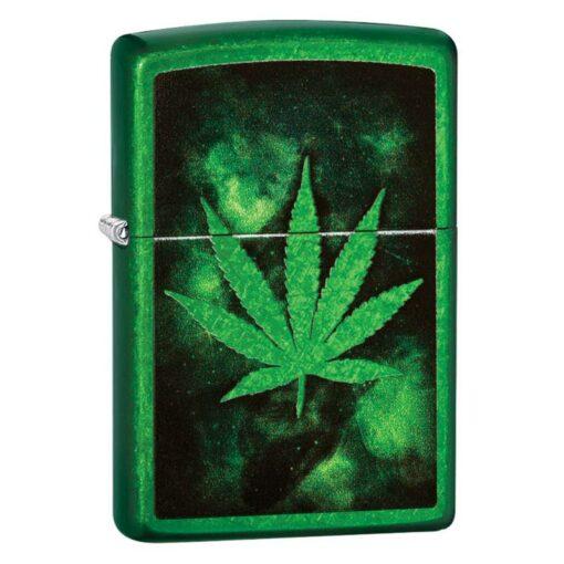 Zippo Feuerzeug Green Leaf Design Grün kaufen online shop bestellen günstig schweiz