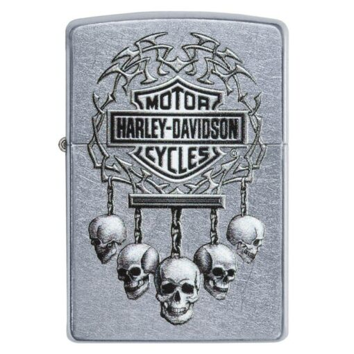 Zippo Feuerzeug Harley Davidson mit Totenkopf kaufen online Shop bestellen Schweiz