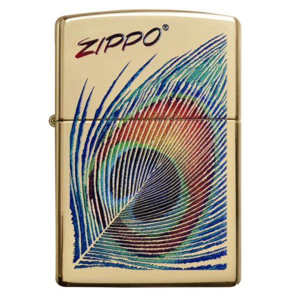 Zippo Feuerzeug Peacock Feather gold kaufen online günstig schweiz