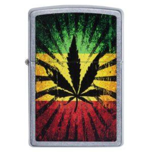 Zippo Feuerzeug Rastafari Leaf Design kaufen online shop schweiz günstig