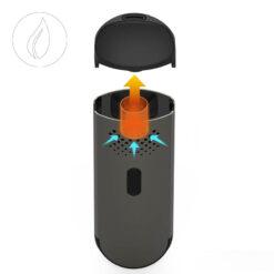 Flowermate Cap Black Vaporizer Online Shop kaufen