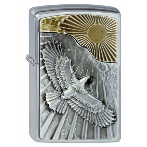 Zippo Feuerzeug Eagle Sun Fly Gold kaufen online Shop Schweiz günstig