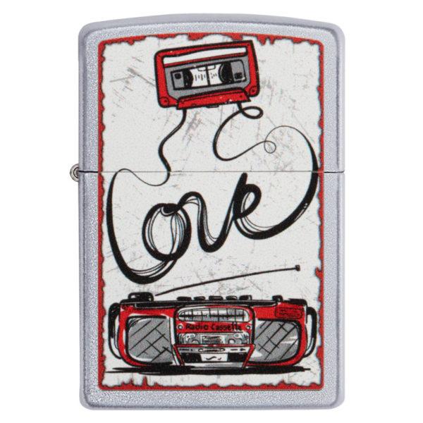 Zippo Feuerzeug Love Tape Casette Old School kaufen online Shop Schweiz günstig