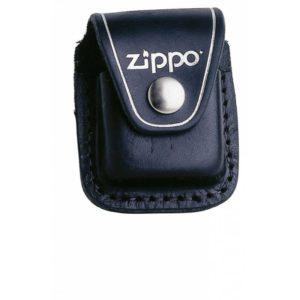 Zippo Tasche Vorderseite echtes Leder schwarz kaufen online Shop günstig Schweiz