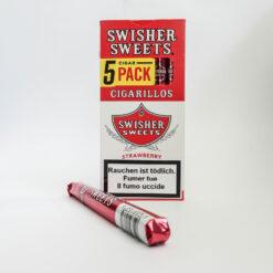 Swisher Sweeds Strawberry Cigarillos 5Stk kaufen online