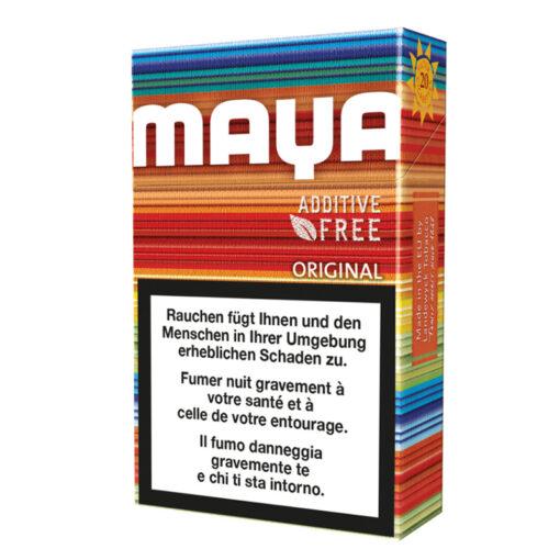 Maya Original Full Flavor Zigaretten ohne Zusatz