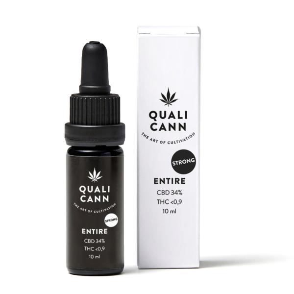 Quali Cann CBD Öl Entire 34% CBD 0.9% THC kaufen online