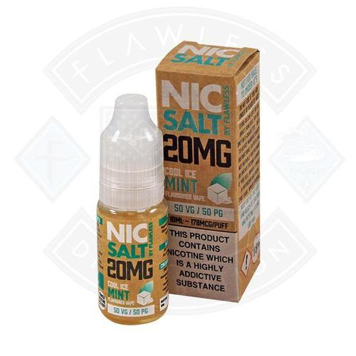 Nikotinsalz Cool Ice Mint Flawless Menthol Salt Nic Salz kaufen online Shop Schweiz günstig
